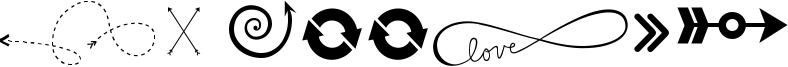 KG Arrows Font