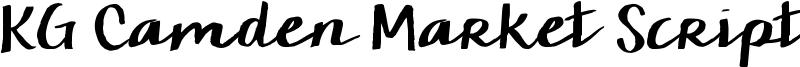 KG Camden Market Script Font