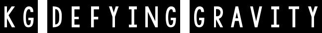 KG Defying Gravity Font