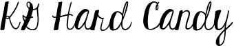 KG Hard Candy Font