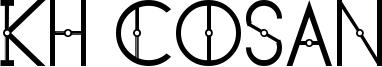 KH Cosan Font
