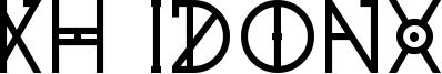 KH Idonx Font