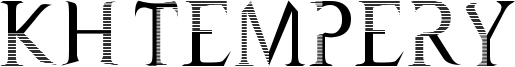 KH Tempery Font