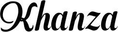 Khanza Font