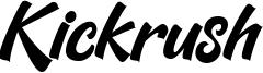 Kickrush Font