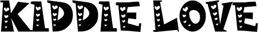 Kiddie Love Font