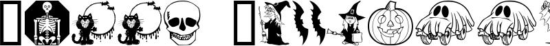 Kiddy Halloween Font