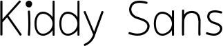 Kiddy Sans Font