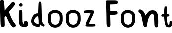 Kidooz Font Font