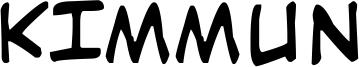 Kimmun Font