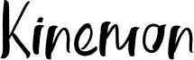Kinemon Font