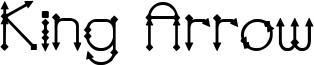 King Arrow Font