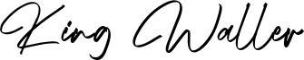 King Waller Font