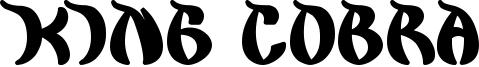 King Cobra Font