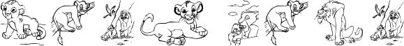 King Lion Font