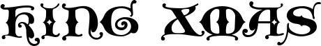King Xmas Font