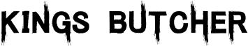 Kings Butcher Font