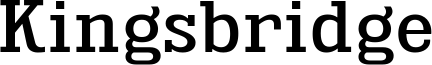 Kingsbridge Font