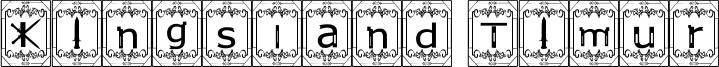 Kingsland Timur Font