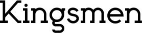 Kingsmen Font