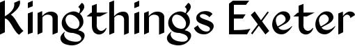 Kingthings Exeter Font