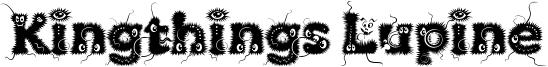 Kingthings Lupine Font