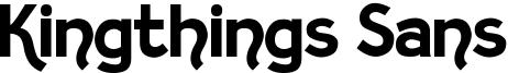 Kingthings Sans Font