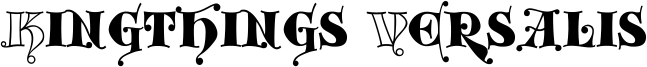 Kingthings Versalis Font
