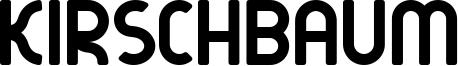 Kirschbaum Font