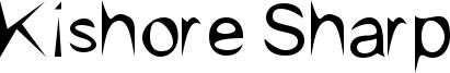 Kishore Sharp Font