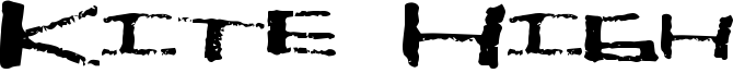 Kite High Font