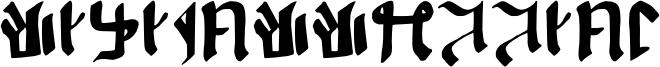 Kitisakkullian Font
