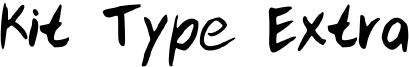 Kit Type Extra Font