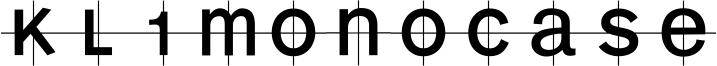 KL1MonoCase Font