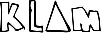 Klam Font
