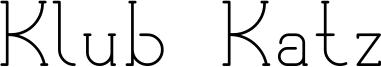 Klub Katz Font