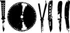 Knives Font