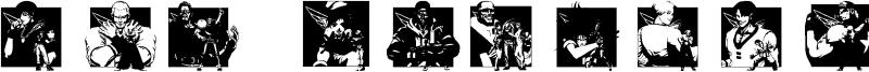 KOF Dingbats Font