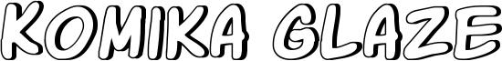 Komika Glaze Font