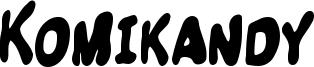 Komikandy Font