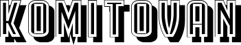 Komitovan Font