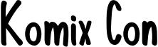 KomixCon-Bold.otf