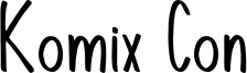 KomixCon.otf