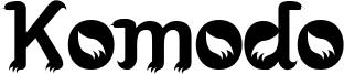 Komodo Font