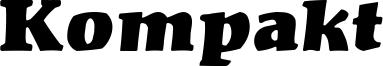 Kompakt Font