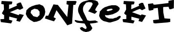 Konfekt Font