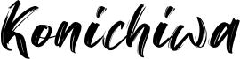 Konichiwa Font