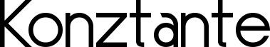 Konztante Font