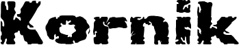 Kornik Font