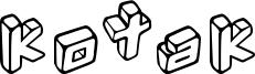 Kotak Font